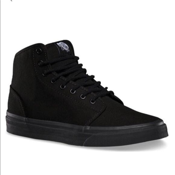 Vans Shoes | Almost New Vans All Black